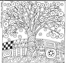 10 Best Images About Coloring Pages On Pinterest Trees Folk Art ...
