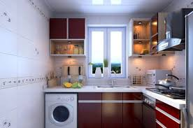 Kitchen Cabinets Red And White Tag For White Cabinets Red Walls Kitchen Nanilumi
