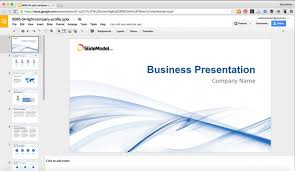Ppt Template For Academic Presentation How To Edit Powerpoint Templates In Google Slides Slidemodel