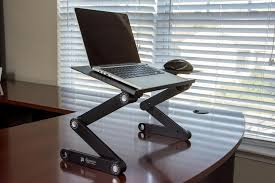 executive office solutions portable adjule aluminum laptop stand is boasts lightweight and high strength aluminum which makes transporting effortless