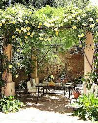 Small Picture Eye Catching Mediterranean Backyard Garden Dcor Ideas Courtyard
