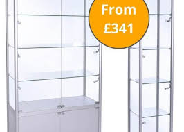 Free Standing Display Cabinets Freestanding Glass Display Cabinet And Collectors Display Cases 43