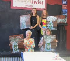 from mothers to daughters everyone has a great time at painting with a twist