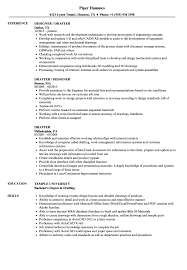 Drafting And Design Resume Examples Drafter Resume Samples Velvet Jobs 19