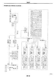 front seat power seat circuit diagram