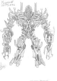 Sideways Transformers Coloring Pages