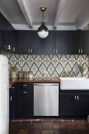 Matte Black Kitchen Cabinets Matte Black In The Kitchen Inspiration Ideas Apartment Therapy