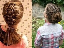 Slávnostné účesy Pre Dlhé Vlasy Dievčat Jednoduché účesy S