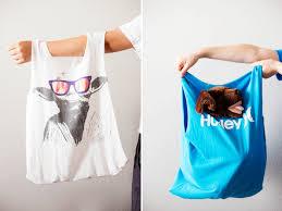 Easy Diy Easy Diy T Shirt Bags All For The Boys