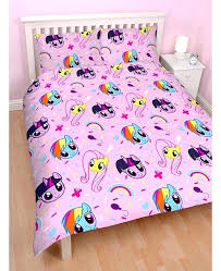 my little pony bed set my little pony reversible double duvet cover set my little pony