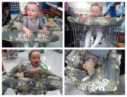 shopping cart  highchair cover from balboa review  giveaway