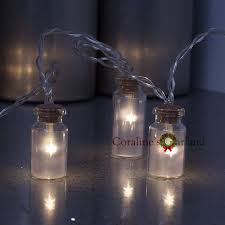 Novelty Glass Jar Mini Battle LED String Lights with 20 LED Battery  operated for Wedding Party Fairy Lights Christmas Deocration-in LED String  from Lights ...