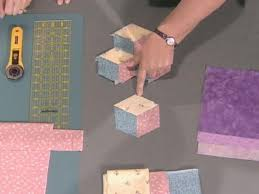 16 best Tumbling block quilts images on Pinterest | Kid quilts ... & Free Baby Quilt Patterns Adamdwight.com