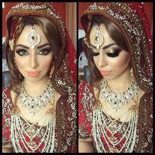 bridal makeup with base