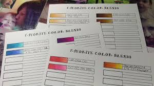 Spectrum Noir Marker Chart Mari Ko Creations Spectrum Noir Color Blend Chart Free