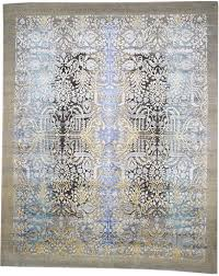 s h modernizes classic tribal and persian motifs by recasting them in blue or gray color combinations above sh40775