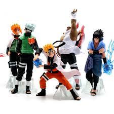 1 pcs Anime Naruto Action Figure 3D Statue Sasuke Kakashi Itachi Ninja PVC  Model Collection Figure Kid Gift Toy|Action & Toy Figures