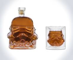 stormtrooper whiskey decanter shot glass