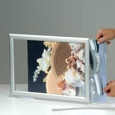 two sided frame double picture 8x10 hanging copper frames glass choice of with
