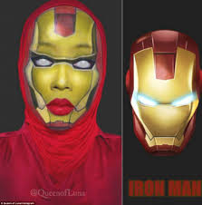 iron man in terms of superheroes saraswati was almost unrecognisable after her iron man