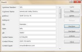 Forms Templates Excel Ease The Pain Of Data Entry With An Excel Forms Template Pryor
