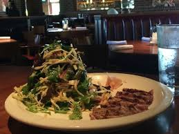 places to eat in oak brook il. j alexander\u0027s restaurant: ahi tuna field green salad places to eat in oak brook il