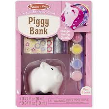 Melissa And Doug Decorate Your Own Jewelry Box Melissa Doug DecorateYourOwn Piggy Bank Craft Kit Walmart 46
