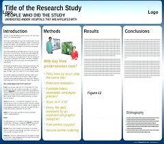 Scientific Poster Template Portrait Scientific Poster Presentation Template