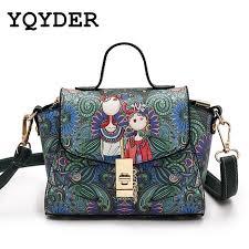 0 48kg yqyder 2017 new women mini bag forest green tze bag designer leather fashion messenger