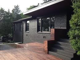 Painted brick exterior Ranch House Painted Brick Exterior Modernexterior Houzz Painted Brick Exterior Modern Exterior Nashville By