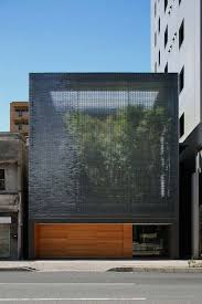 Cool Glass Facades Exterior With Optical Glass Facade Design Peaceful House  In Front View