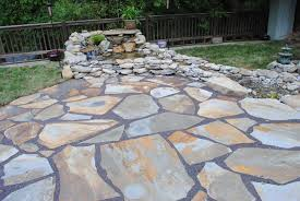 image of flagstone patio cost