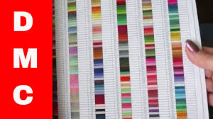2 dmc floss color charts are collected for any of your needs. Diamond Painting 911 Dmc Color Chart Youtube