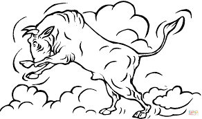 Small Picture Bull 12 coloring page Free Printable Coloring Pages