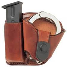 Handcuff And Magazine Holder Bianchi Model 100 Leather MagCuff Combo Paddle 96