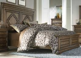 Liberty Furniture Amelia Panel Bedroom Set In Antique Toffee