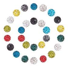 Pandahall 1 Box (10 Color, 10 pcs/Color) 10mm ... - Amazon.com