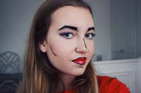 pop art makeup tutorial