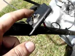 how to wire a on off toggle switch on a lawn mower