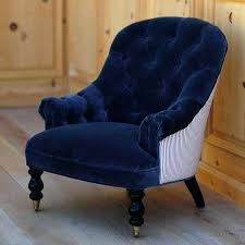 blue velvet accent chair. Navy Blue Accent Chair Armchair Velvet Chairs With Arms Light