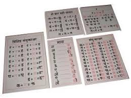 Hindi Matra Chart Hindi Matra Chart Exporter Manufacturer