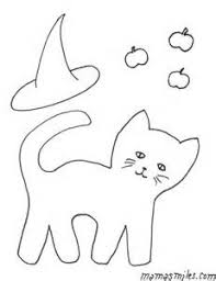 Small Picture pages of a black cat for halloween halloween black cat coloring
