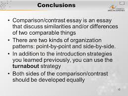 pertemuan comparison contrast matakuliah writing iii  10 conclusions comparison contrast essay is an essay that discuss similarities and or differences