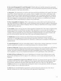 Sample Employment Separation Agreements Magnificent Employment Separation Agreement Template Contract Separation