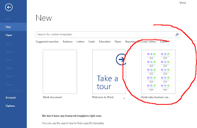 Microsoft Word Teplates How To Remove Recent Templates In Microsoft Word On The Home
