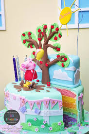 Karas Party Ideas Peppa Pig Third Birthday Party