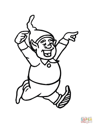 Small Picture Coloring Pages Christmas Elf Mask Free Printable Coloring Page