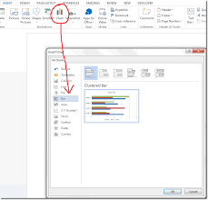 How To Insert A Bar Chart In Excel Bar Chart In Word