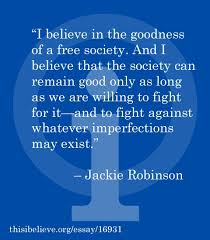 best jackie robinson images jackie robinson from jackie robinson s this i believe essay