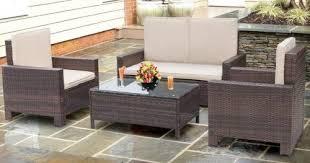 walnew outdoor wicker patio furniture